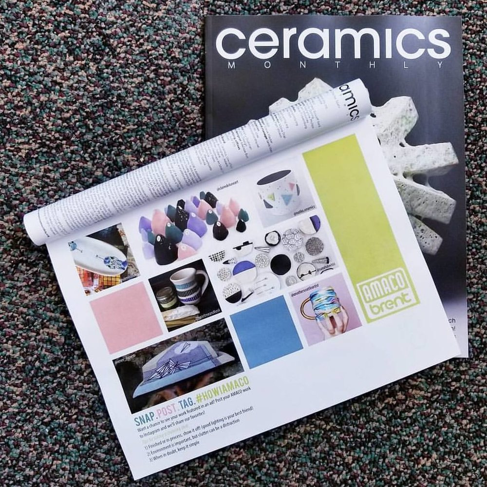 ceramics monthly amaco artist