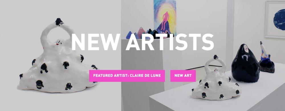 claire de lune degree art new artist header