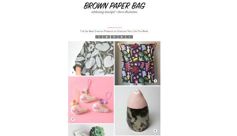 Brown Paper Bag - BLOG: 7 of the Best Creative Products to Illustrate Your Life This Week