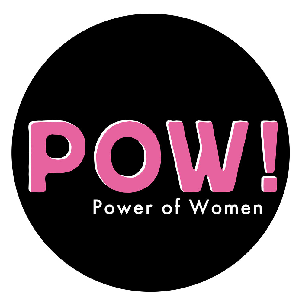 Rebrand / POW! : Power of Women Thanet feminist art festival