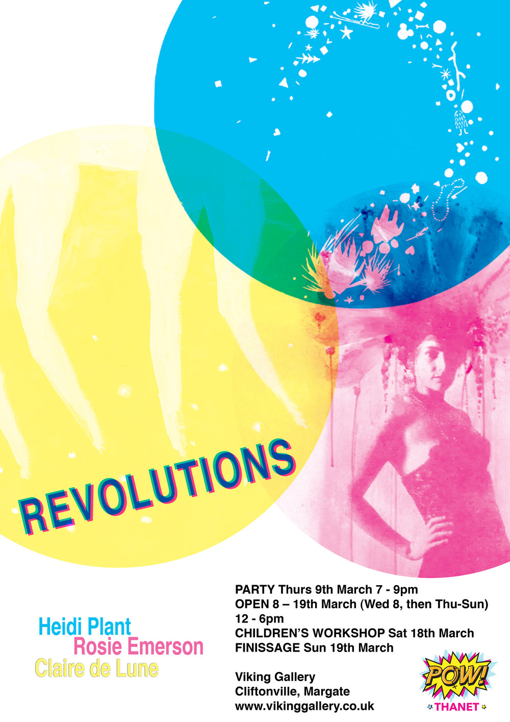 Revolutions Exhibition Poster