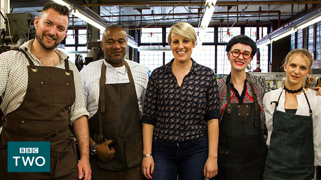 As Seen On BBC Two's Made in Great Britain - In this 6-Part series led by Steph McGovern, myself and 3 other creatives took a journey in to Britain's manufacturing past to celebrate and reveal the incredible, surprising stories behind some of the iconic products that made the UK famous around the world. On BBC Two at 7pm and available on iplayer …More Info