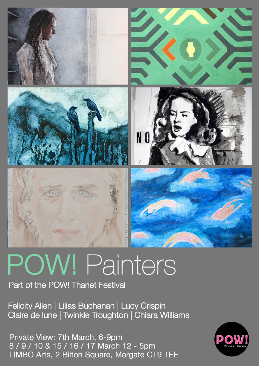 POW! Thanet Painters Exhibition