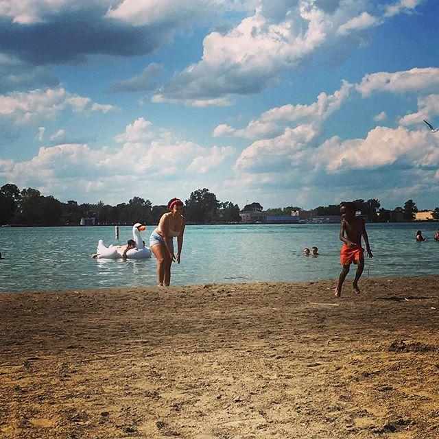 Summer fun on Belle Isle #dipndivedetroit #memorialweekend