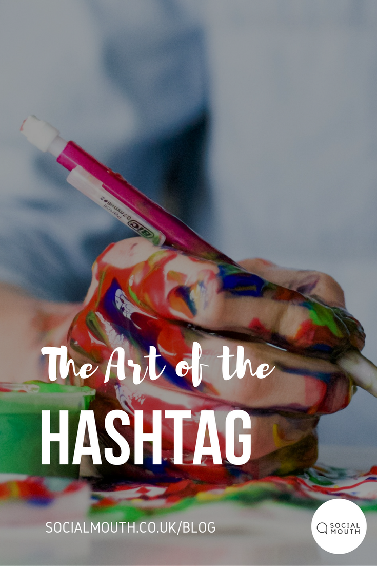 Social Mouth Blog, Art of the hashtag