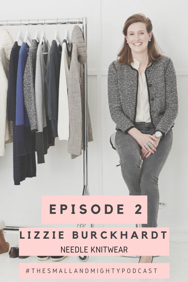 Lizzie Burckhardt, Needle Knitwear