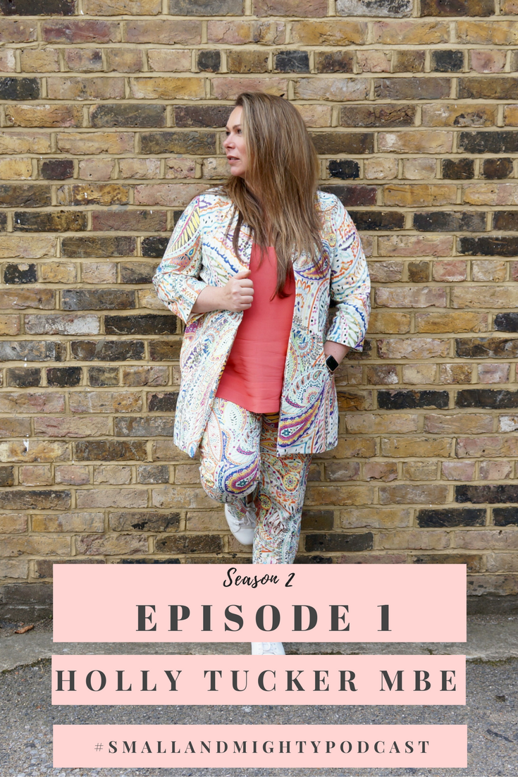 Season 2, Episode 1 kicks off with the first business expert to join us this season. Co-Founder of Not On The High Street and Holly & Co, Holly Tucker MBE. Holly talks about growing a business from the kitchen table to a multi-million turnover, starting again with a new venture, raising investment and what she looks for when investing herself, as well as lots of Instagram chat! Listen on http://socialmouth.co.uk/smallandmightypodcast or your podcast provider.