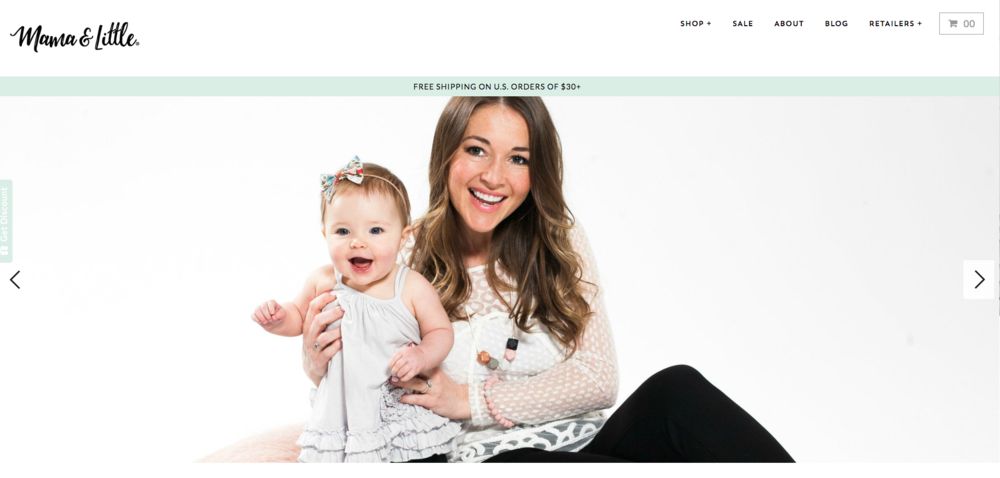 Mamma & Little is an online store selling modern, fashionable silicone teething jewellery.  Powered by Shopify.