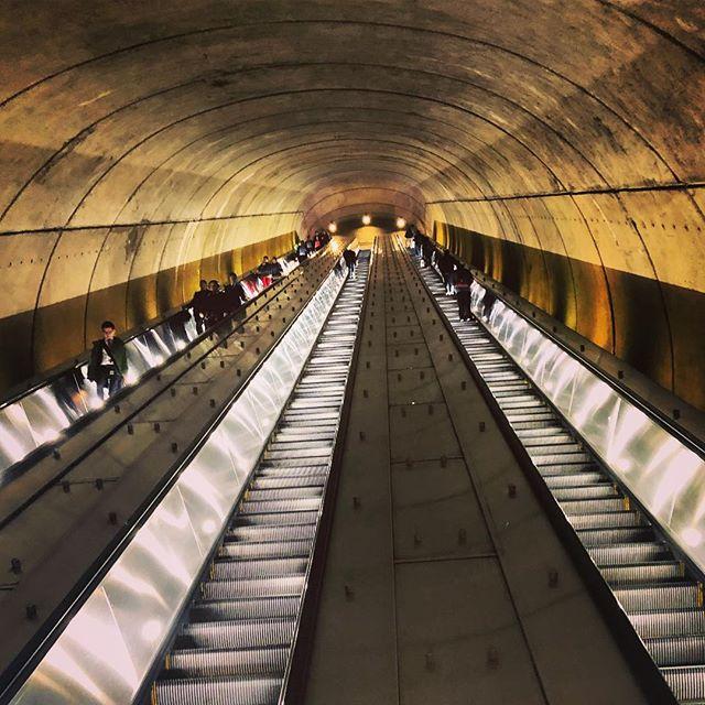 Different commute today. . . . #dc #igdc #holycow #washingtondc #washington #metro #light #commuterlife #work #mapping #gis #aag #lookup