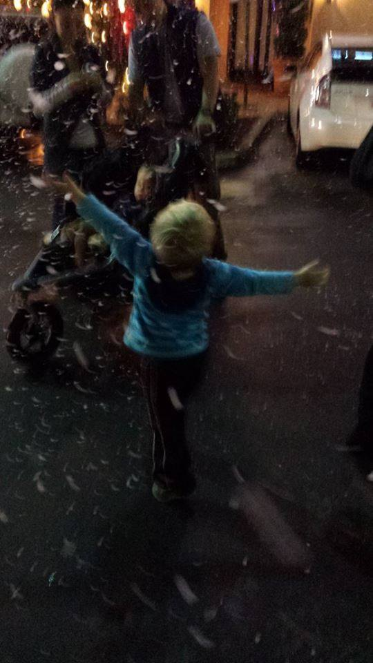 Snow and Bubble Effects