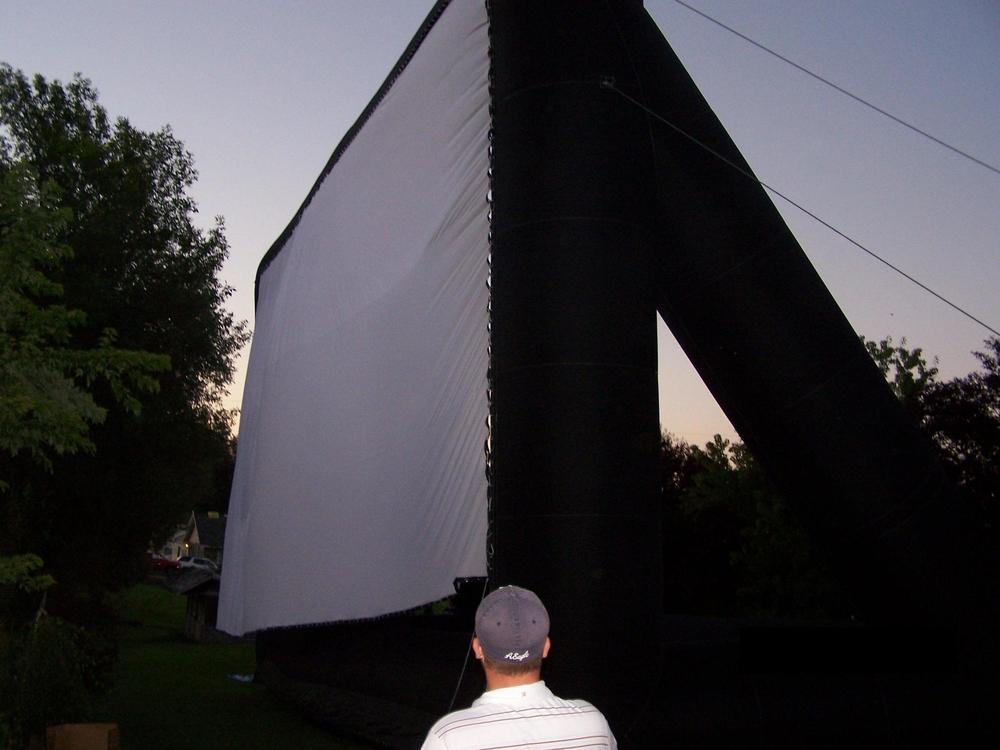 Outdoor Inflatable Movie Cinema Screen