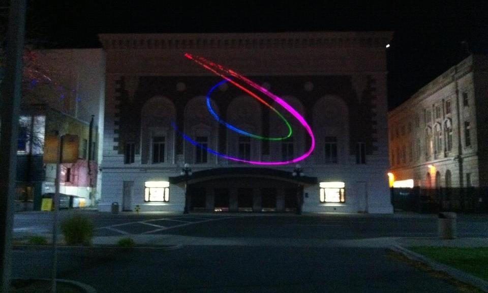 Laser Light Show Pattern Generation
