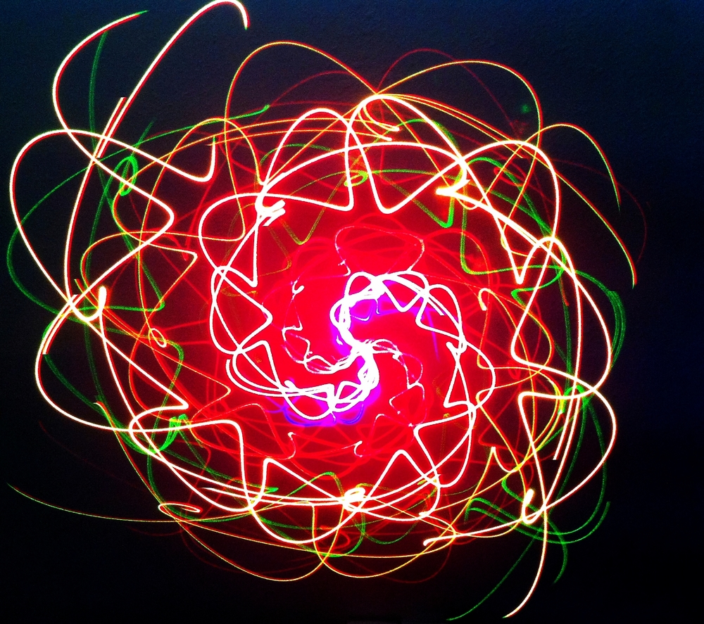 Planetarium - Style Laser Light Show