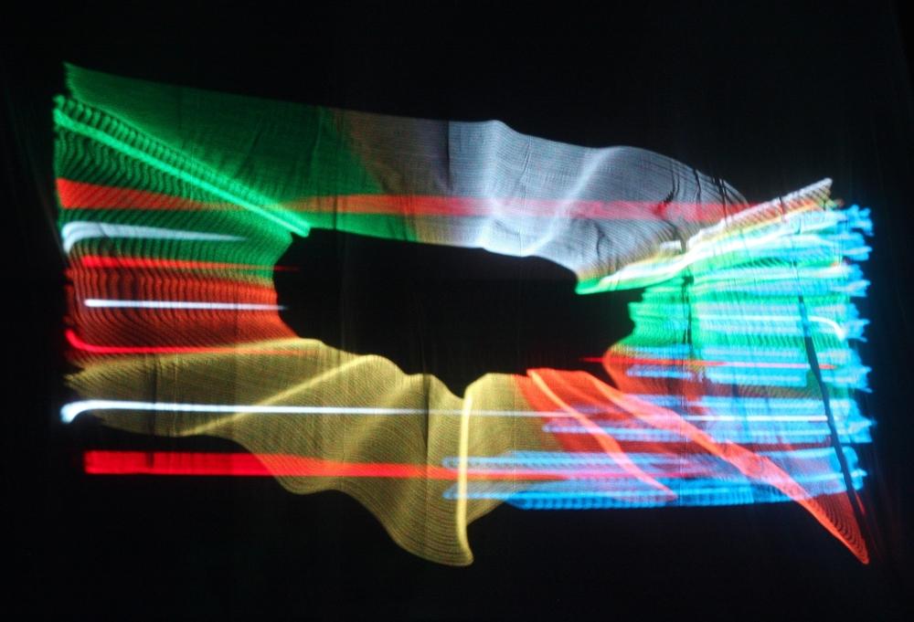Patriotic Laser Show
