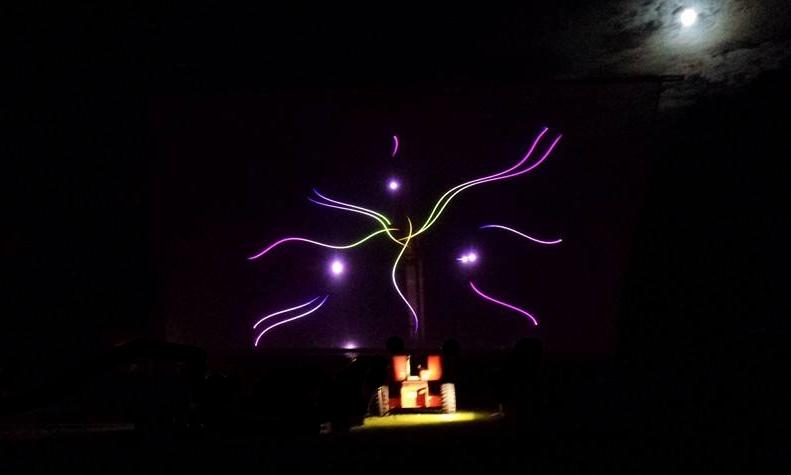 Laser Light Show Pattern