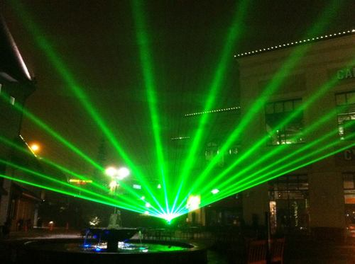 Laser light shows productions event planning and effects professionals - Outdoor laser light show ...