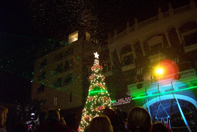 Christmas Tree Lighting Lasers