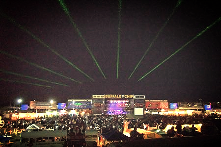 Festival Special Event Laser light show