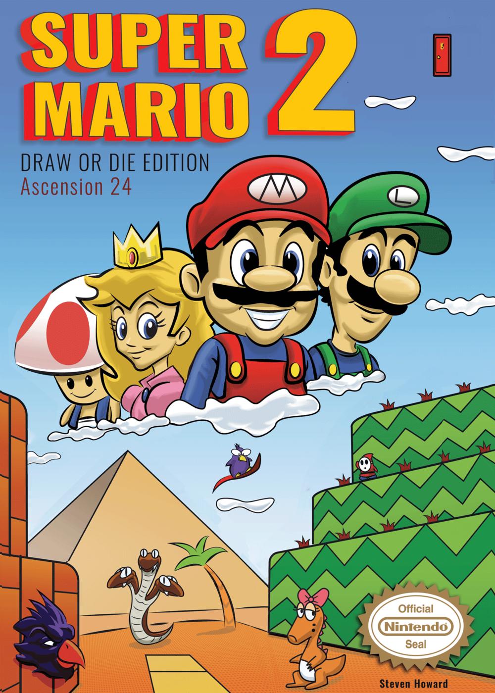 Super Mario 2 Cover Redesign