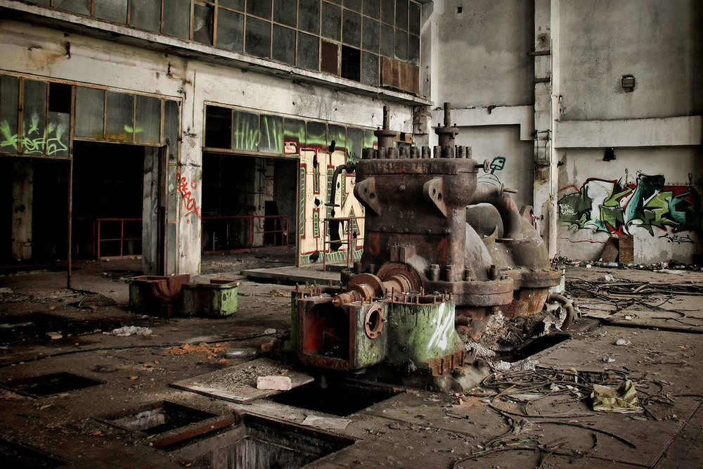 Heating Plant , Prague, CZ II