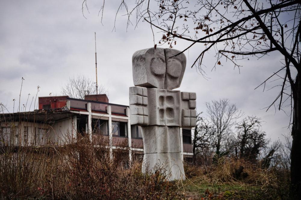 NATO ruin, Belgrade Serbia II