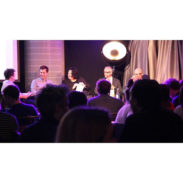 Super successful first Storey event last Tuesday evening @thehospitalclub. Huge thanks to @Alsctt  from @if_do - @hazel_rounding from @shedkm - @nick_searl from Argent LLP and Simon Allford from @ahmmarchitects  Keep an eye out for our upcoming events in the new year!