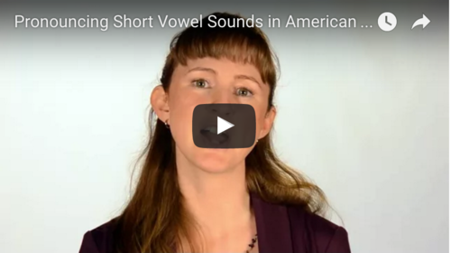Watch our  Short Vowels Video  Now!