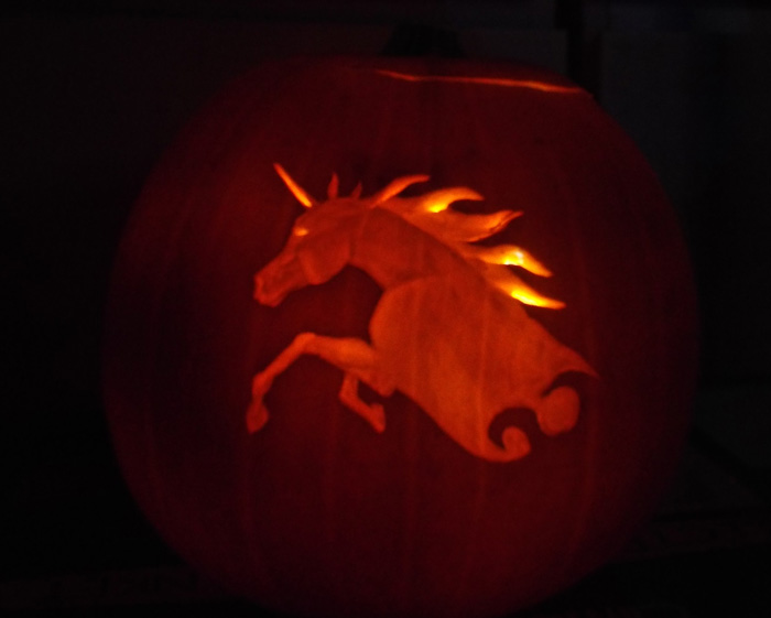 Pumpkin Unicorn 1