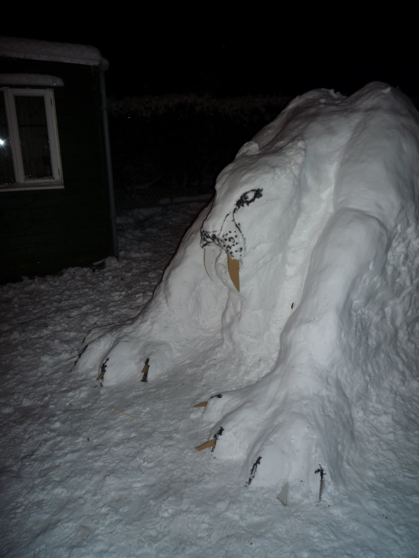 Sabretoothed Tiger