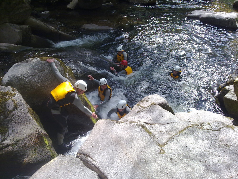GORGE WALKING -