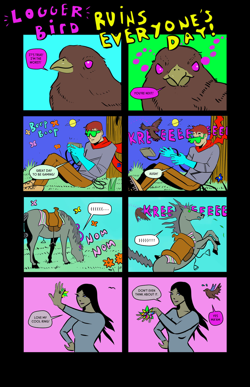 logger bird ruins everything - tilted sun bonus comic becky jewell.jpg
