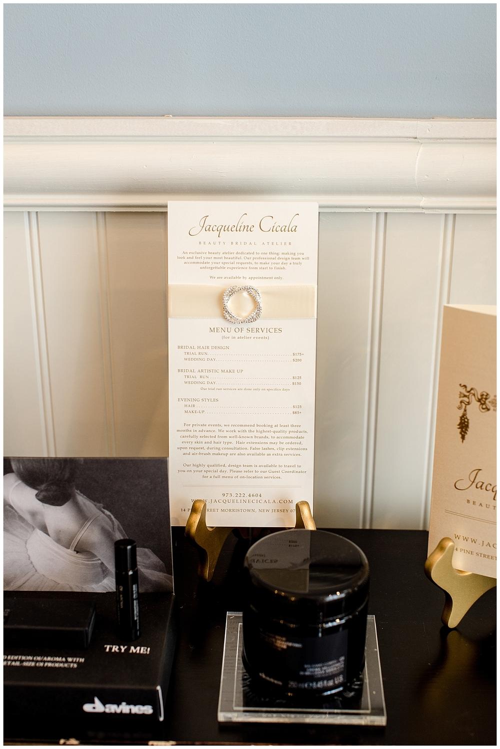 Red Oak Weddings | Jacqueline Cicala Beauty Bridal Atelier | Monika de Myer Photography