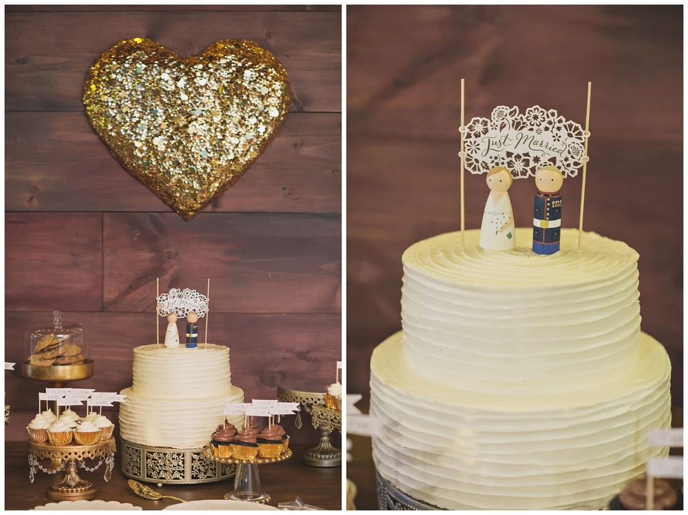 The Roxbury Barn Wedding Venue | Wedding Cake | Barn Wedding