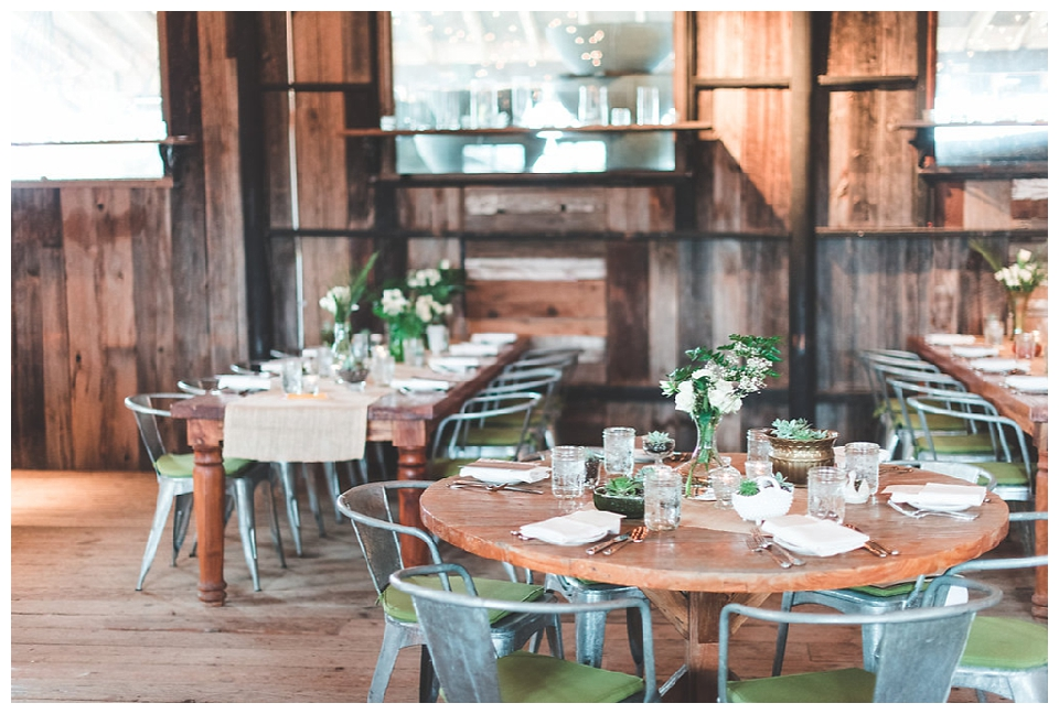 Rustic and Garden Themed Bridal Shower at Terrain | Red Oak Weddings