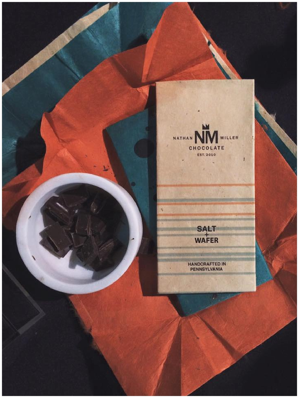 New York, New Jersey and Pennsylvania wedding vendors, resources and inspiration for the modern couple | Father's Day Gift Guide - Nathan Miller Chocolates