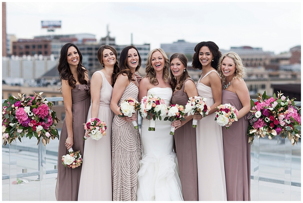 Guide to the Perfectly Mismatched Bridal Party •  Bella Bridesmaids Madison | Photo by Cadence + Eli