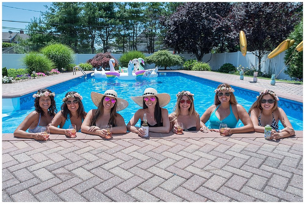Bachelorette Pool Party • Lin Pernille Photography`