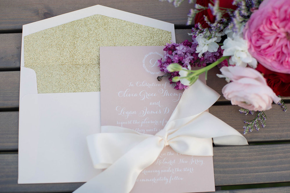 New Jersey Stationery Designer | New Jersey | Real weddings, engagements and inspiration for the modern NJ Bride | www.redoakweddings.com