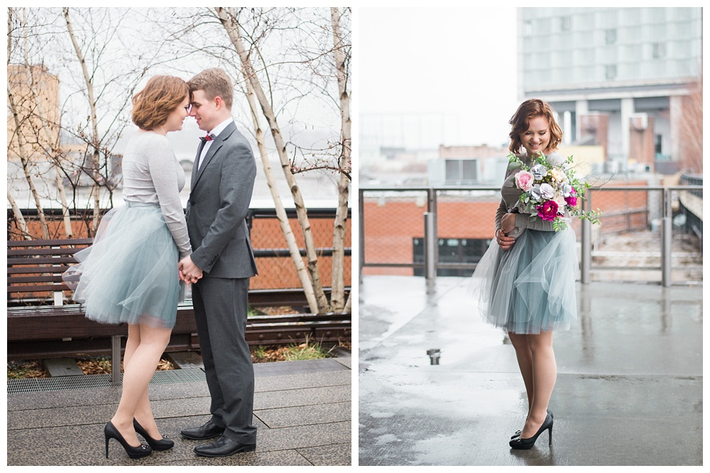 NY Inspiration | High Line, NY | Real weddings, engagements and inspiration for the modern NY Bride | www.redoakweddings.com