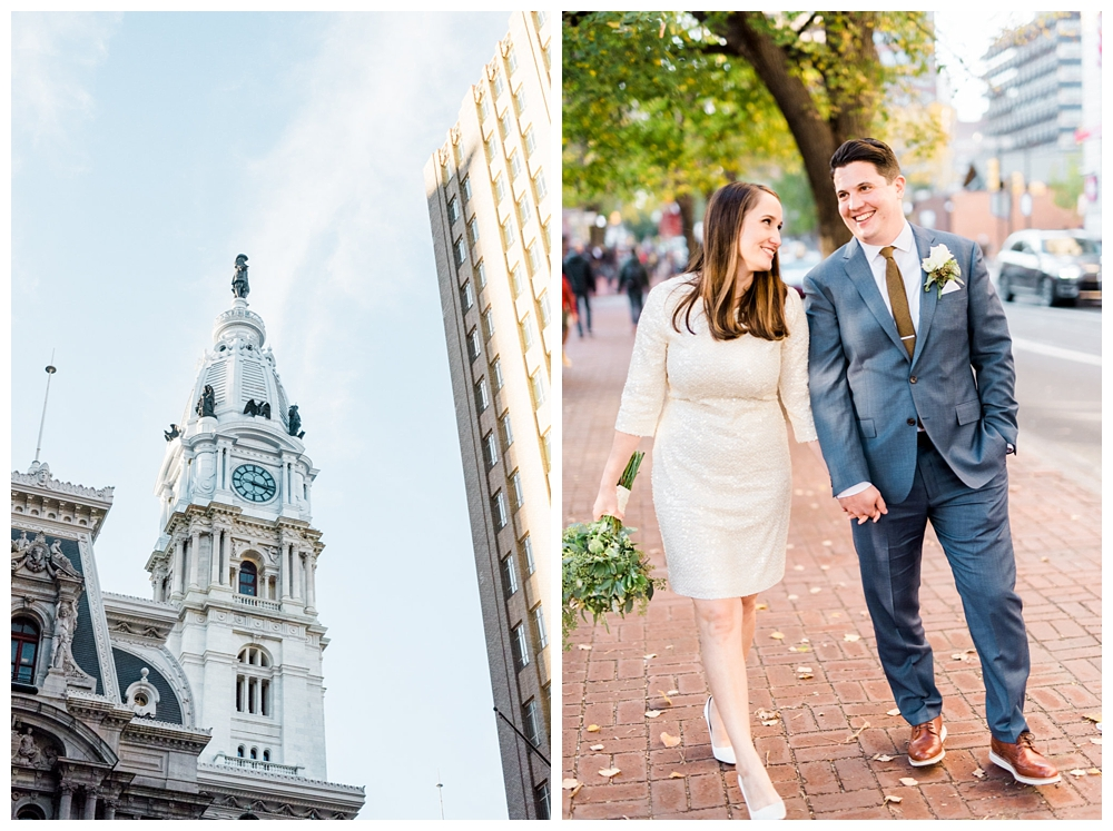 PA Weddings | Philadelphia's City Hall, Philadelphia, PA | Real weddings, engagements and inspiration for the modern PA Bride | www.redoakweddings.com
