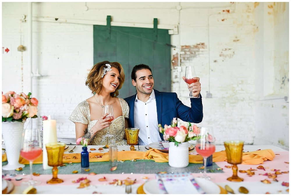 New Jersey Wedding Inspiration | The Art Factory, Paterson, NJ | Real weddings, engagements and inspiration for the modern NJ Bride | www.redoakweddings.com