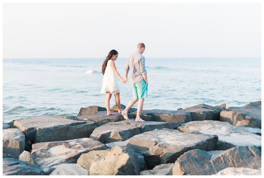 New Jersey Engagements | Spring Lake, NJ| Real weddings, engagements and inspiration for the modern NJ Bride | www.redoakweddings.com
