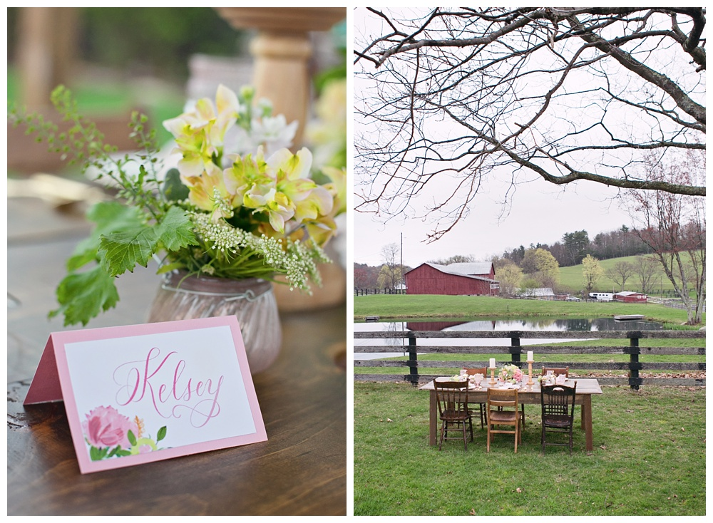 Bridal shower at The Lodge at Raven Creek Pennsylvania wedding venue