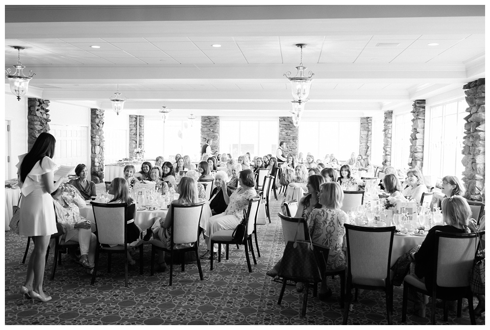 Mamaroneck, NY Bridal Shower at Orienta Beach Club | Nicole DeTone Photography | Blogger Bride Kristen Henry