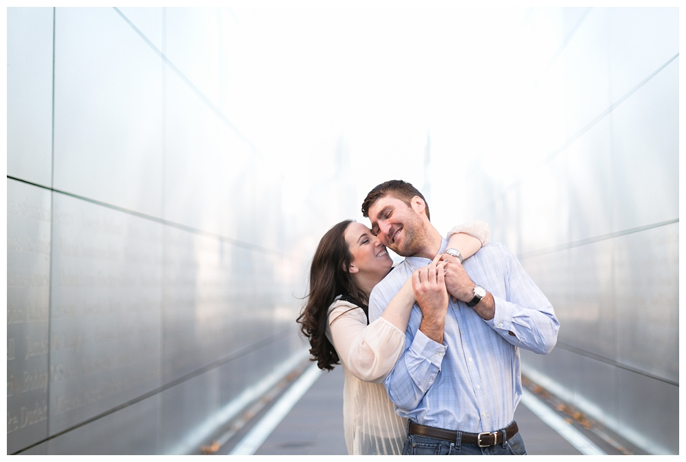 New Jersey Engagements | Liberty State Park, New Jersey | Real weddings, engagements and inspiration for the modern NJ Bride | www.redoakweddings.com