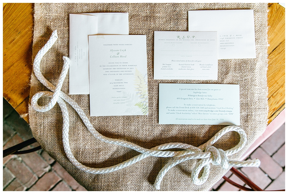 Pennsylvania Weddings | Fall Wedding at Terrain in Glen Mills, PA | www.redoakweddings.com