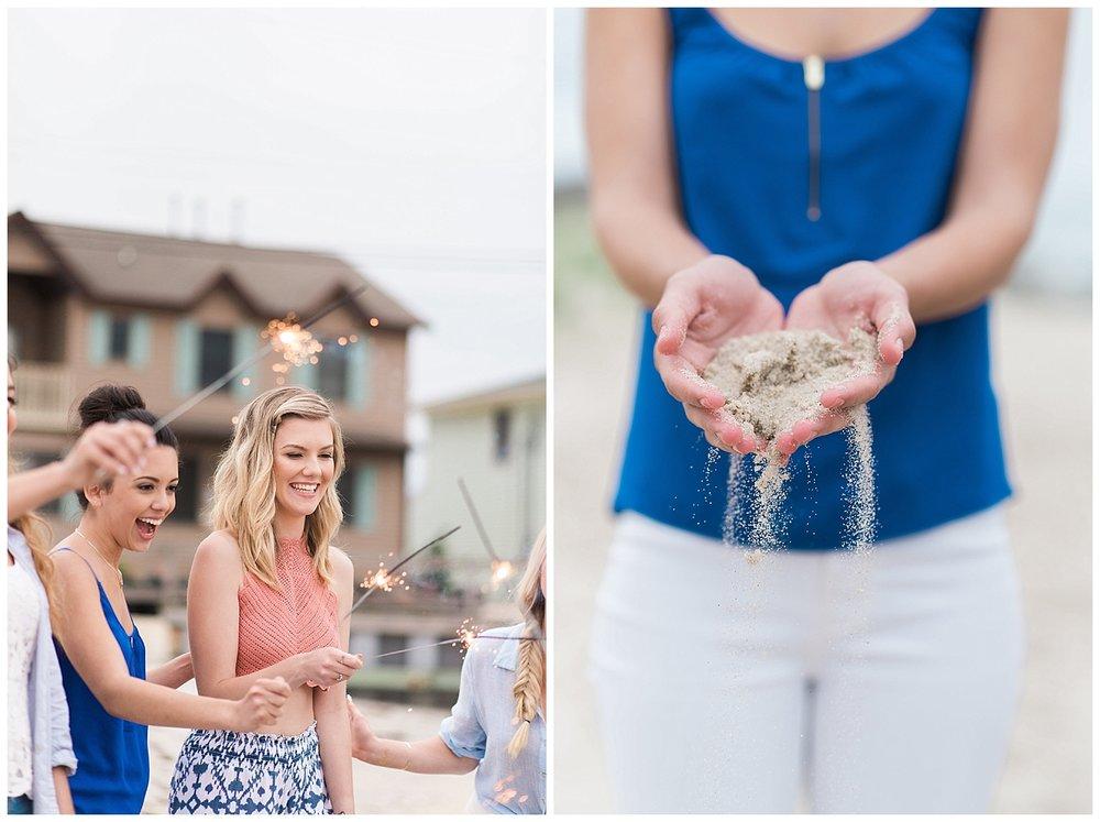 Jersey Shore Bachelorette Celebration | Lavallette, NJ | Real weddings, engagements and inspiration for the modern NJ Bride | www.redoakweddings.com