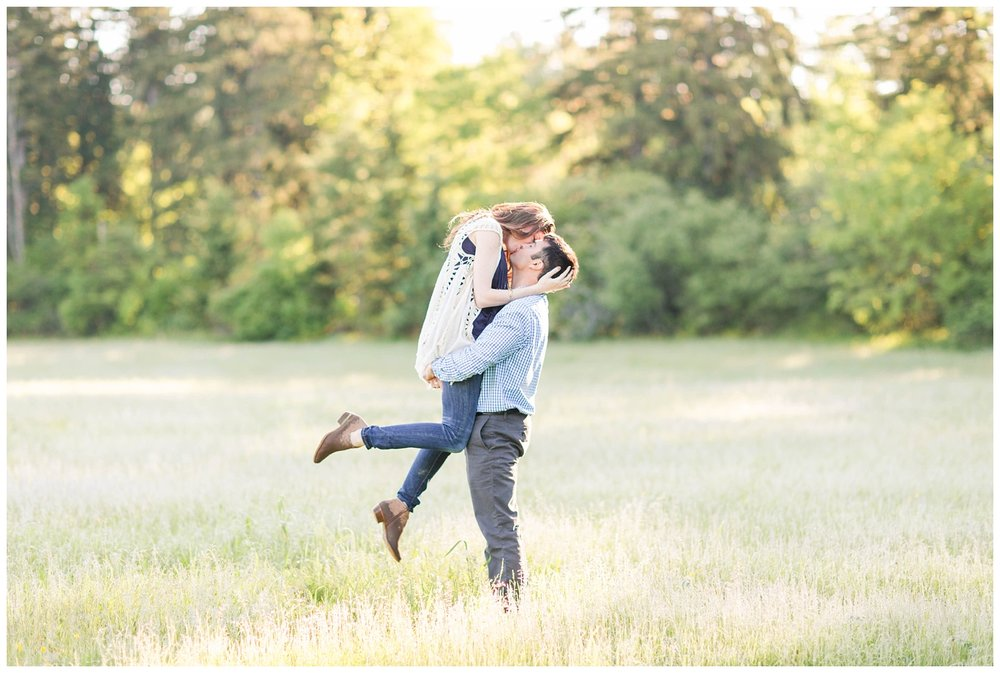 Upstate NY Engagements | Katelyn James Photography | Stone Quarry Art Park + Lorenzo Historic Site | Cazenovia, New York | www.redoakweddings.com