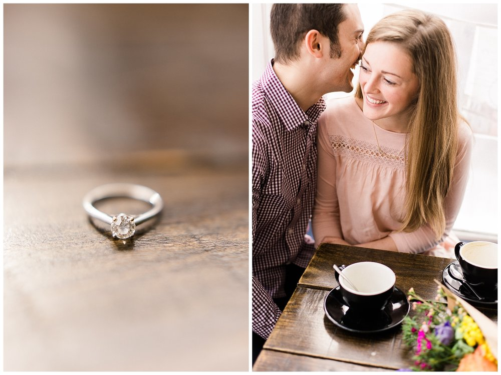 Pittsburgh Engagement Session | The Common Coffee Place | Pittsburgh, PA \ www.redoakweddings
