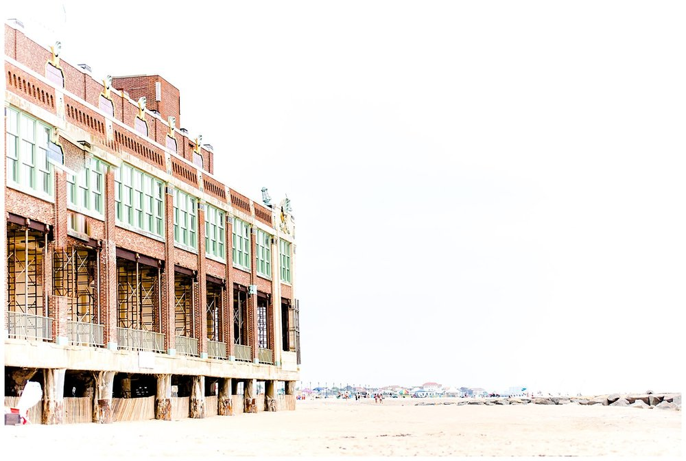 Jersey Shore Engagement Session | Asbury Park, NJ | www.redoakweddings.com
